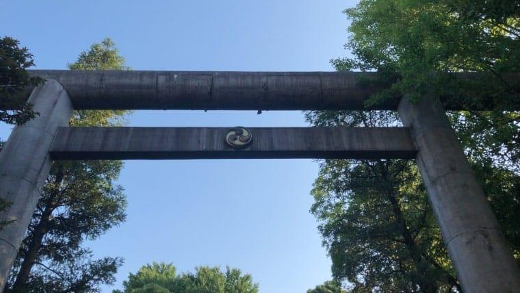 天祖神社・鳥居
