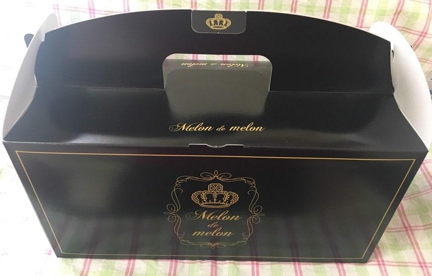 メロンパン専門店『Melon de Melon』化粧箱
