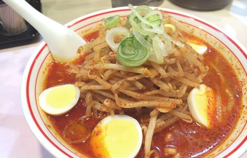 蒙古タンメン中本 蒙古卵麺