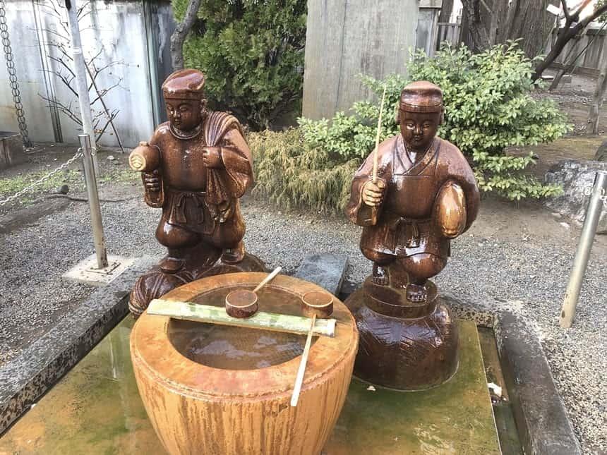 亀々井 恵比寿様・大黒様の像