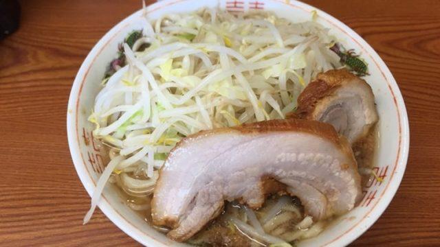 ラーメン二郎亀戸店・ラーメン