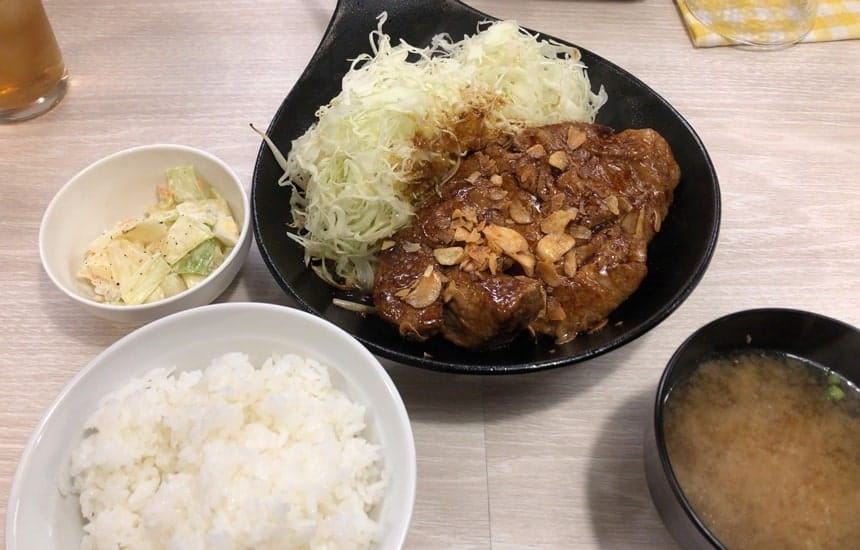 大トンテキ定食