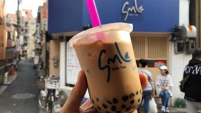 SML Milk Teaのタピオカミルクティー