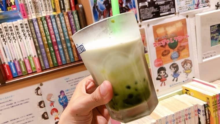 EAT CAFE ANZU(イートカフェアンズ)・タピオカオレ(抹茶)