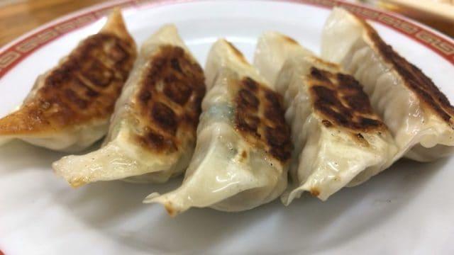 亀戸餃子本店の餃子