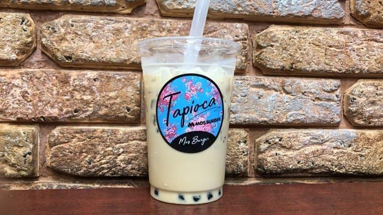 タピオカ冬瓜茶ミルク(混ぜた後)