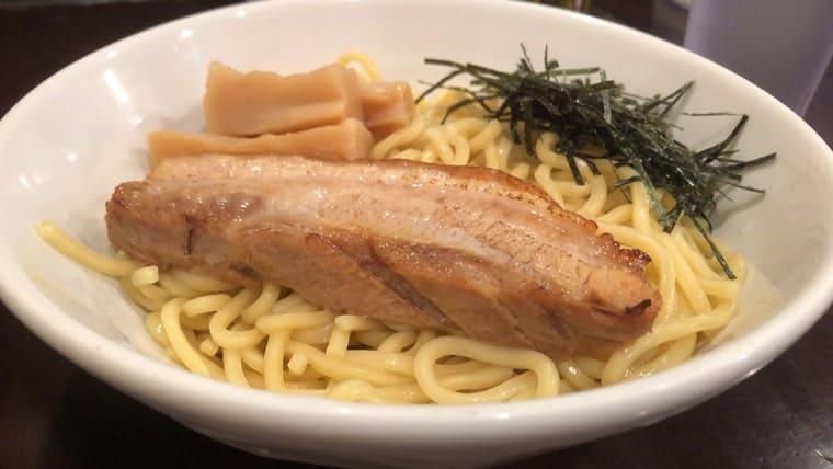 らーめん なが田・つけ麺の炙りチャーシュー
