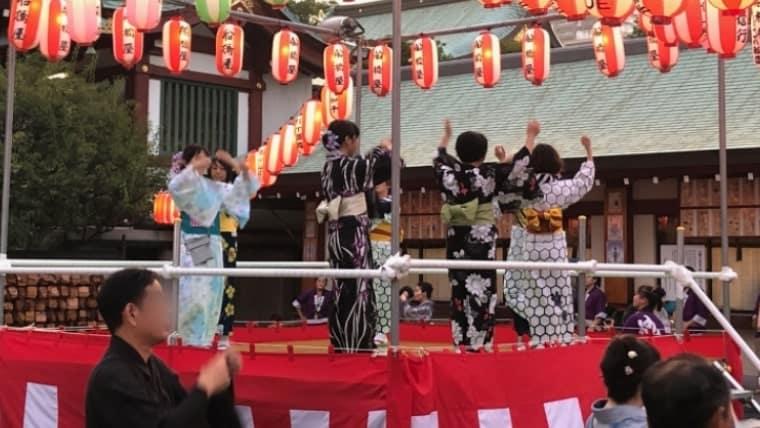 亀戸三丁目祭りの様子1