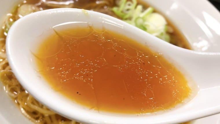 嵐山・バーグメンのスープ(正油)
