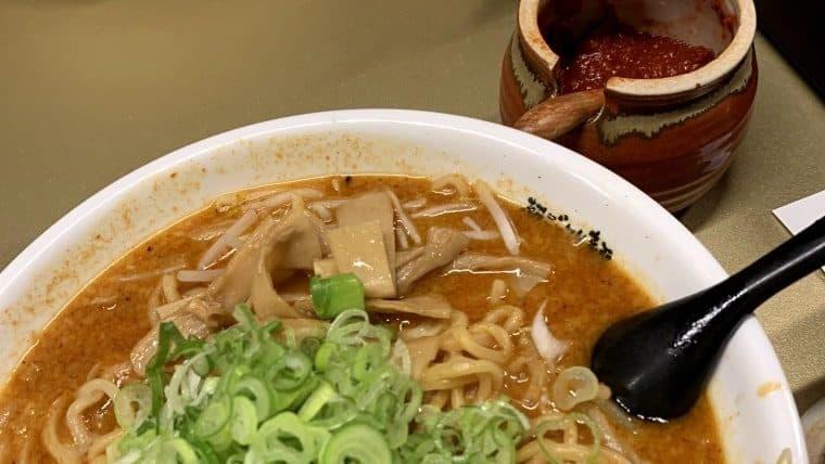 カレーラーメン(3辛)with豆板醤
