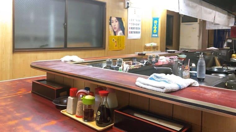 札幌ラーメン 石狩川・店内の様子