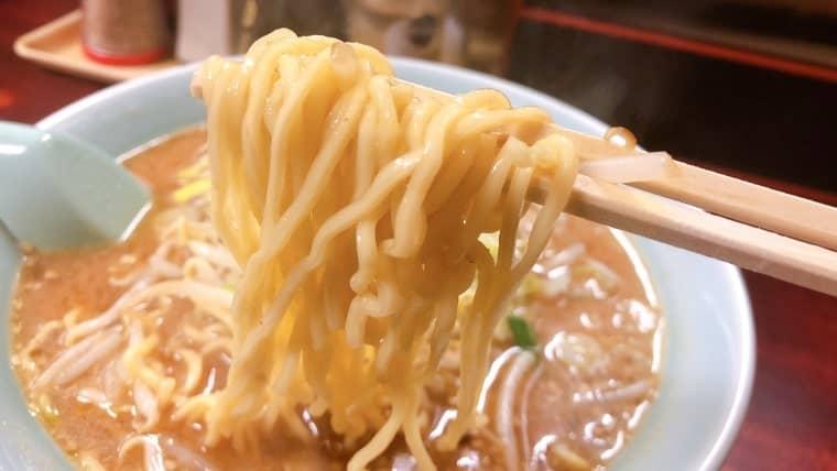 札幌ラーメン 石狩川・麺