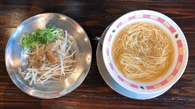 亀久・牛テールラーメン