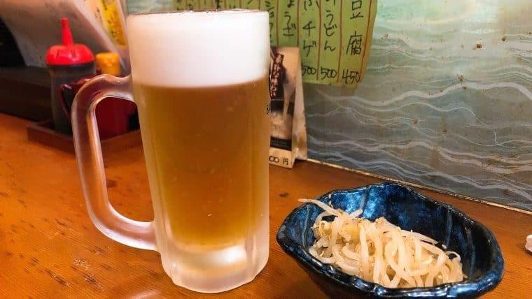 松ちゃん・最初の1杯