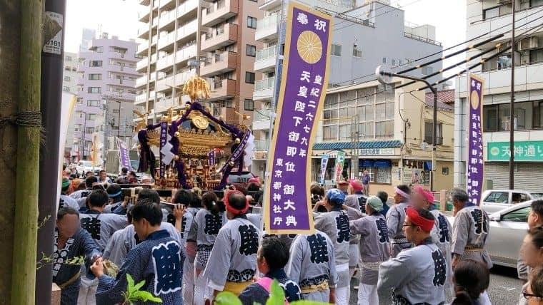 【2019】亀戸天祖神社例祭(9/15)