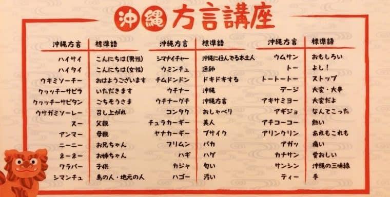 沖縄方言講座