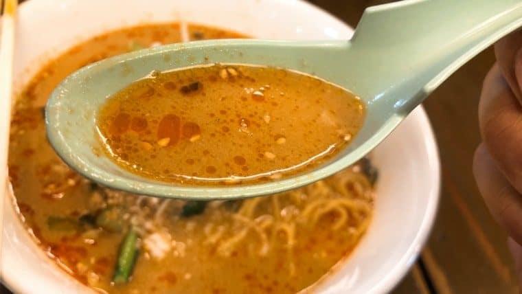 濃厚なスープ(少し甘め)