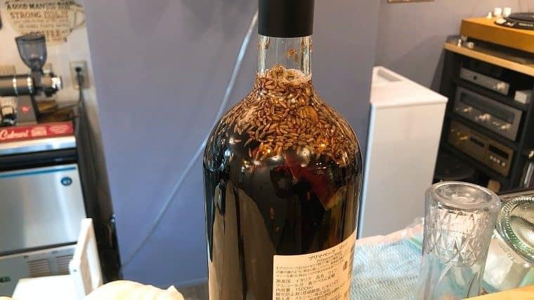 マサラワインの仕込み