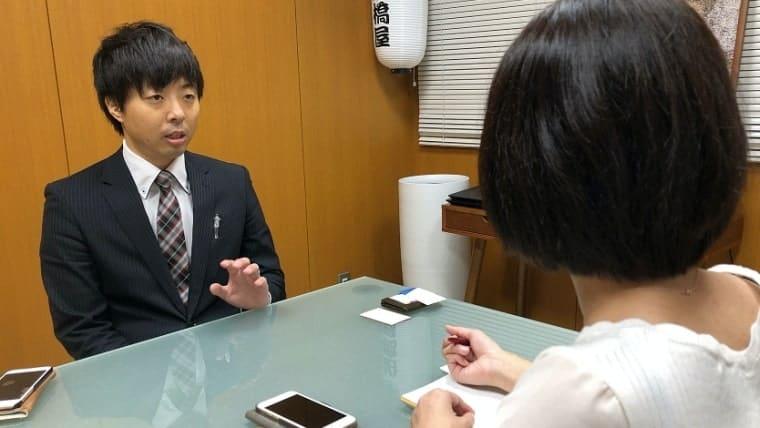 船橋屋・インタビュー(舘野さん)