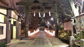 亀戸香取神社のスポーツ灯籠