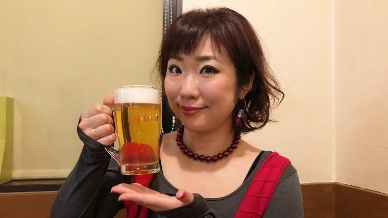 ビールと姫乃さん