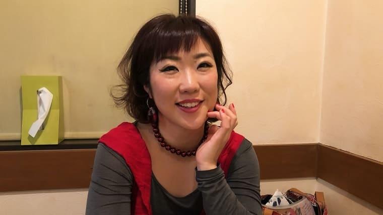 亀戸における大道芸の創始者、姫乃さん