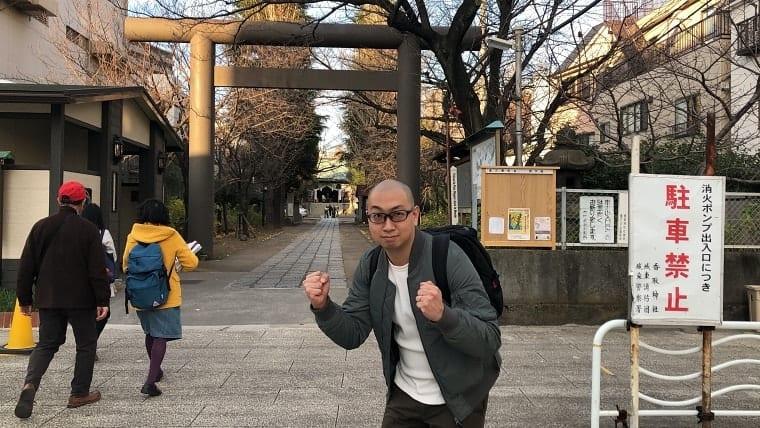 勝負に勝つ!ということで亀戸香取神社でも祈願