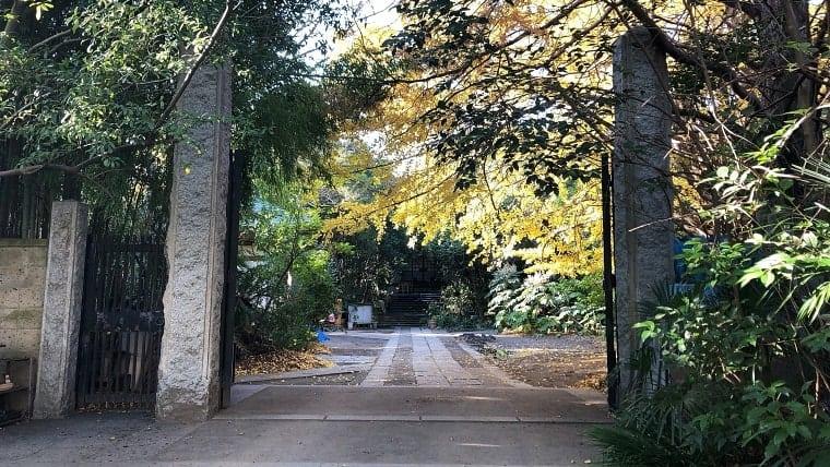普門院の入り口