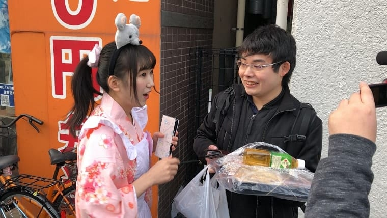 特製1万円のお弁当購入者現る!