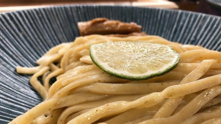 一合の麺(アップ)