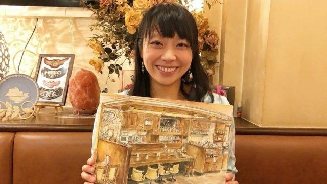 画家・濱田恵理子さんにインタビュー