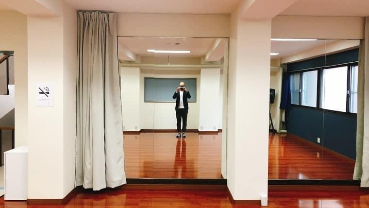 大きい鏡もあります