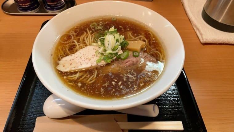 亀戸拉麺 「黒」+山椒